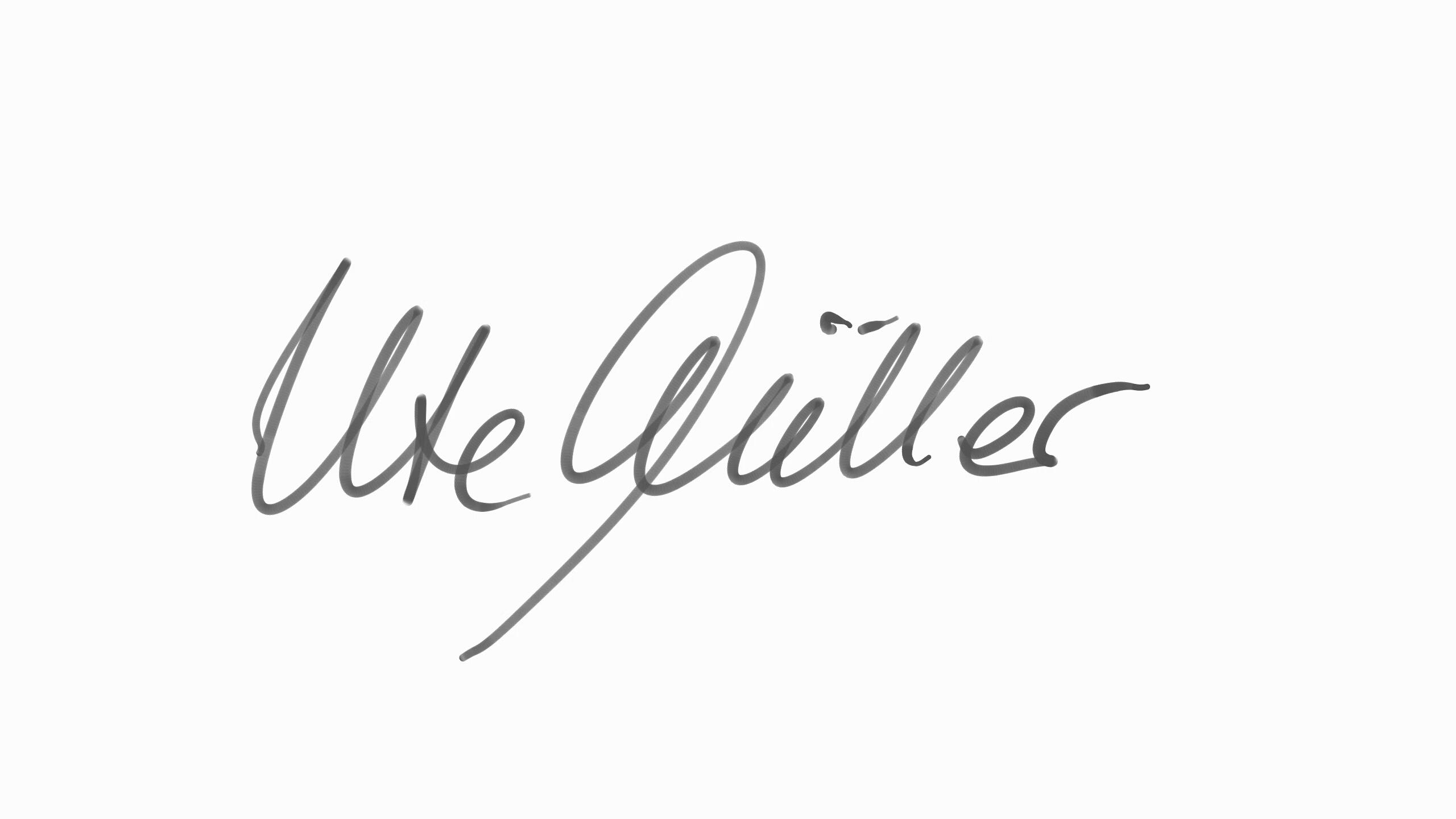 Unterschrift EASYCLEAN-QUEEN Ute Müller